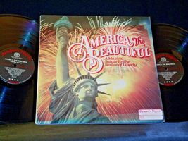 America The Beautiful RCA A Musical Salute to the Statue of Liberty AA-191765 Vi image 3
