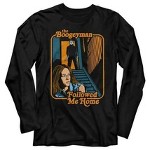 Halloween Movie The Boogie Man Followed Me Home Long Sleeve T Shirt     - $23.22+