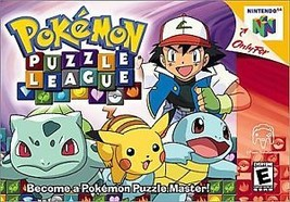 Pokemon Puzzle League (Nintendo 64, 2000) Cartridge Only - $8.59