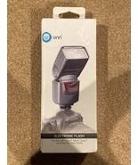 Onn Electronic Camera Flash for DSLR Cameras Canon Nikon Sony & Hot Shoe... - $23.75