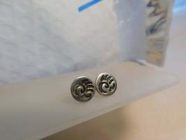 Vtg 925 Silver BEAR CLAW Stud Post Earrings Southwestern Style - $29.99