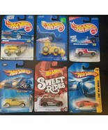 Lot o 6 Hot Wheels - Miss-match, Tractor, Digger, Red line, More - NEW o... - $9.79