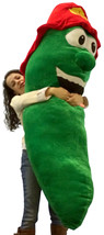 Get Out of a Pickle with this Giant Stuffed Pickle 66 Inch Huge Five and a Half  - $132.21