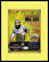 Super Ghouls N Ghosts 2002 Game Boy Framed 11x14 ORIGINAL Advertisement  - $22.55