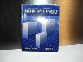 a  problem  solving  approach  elementary  statistics - $4.99