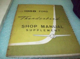 1968 Ford Thunderbird Factory Shop Manual Supplement - $14.80