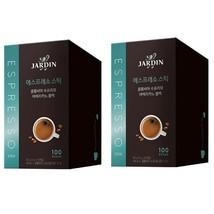 Jardin Supremo Espresso Stick Korea Instant Coffee Black Americano 200 Counts image 1