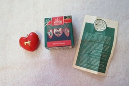 Hallmark Keepsake Ornament 1990 Heart of Christmas QX472-6 - $19.99