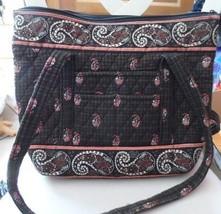 Vera Bradley Villager large zipper tote in Houndstooth Brown - $38.00