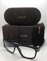 New TOM FORD Eyeglasses CECILIO-02 TF 628 001 57-15 145 Black Frame w/Clear Lens