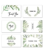 VEEYOL 42 Thank You Cards with Envelopes, 4x6 inch Watercolor Foliage Th... - $12.66
