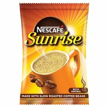 Nescafe Sunrise Rich Aroma Instant Coffee-Chicory Mix, 50 grams Coffee Pouch - $5.99+