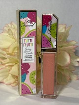 NIB TOO FACED Tutti Frutti Juicy Fruits Comfort Lip Glaze Gloss DREAMSICLE - $8.86