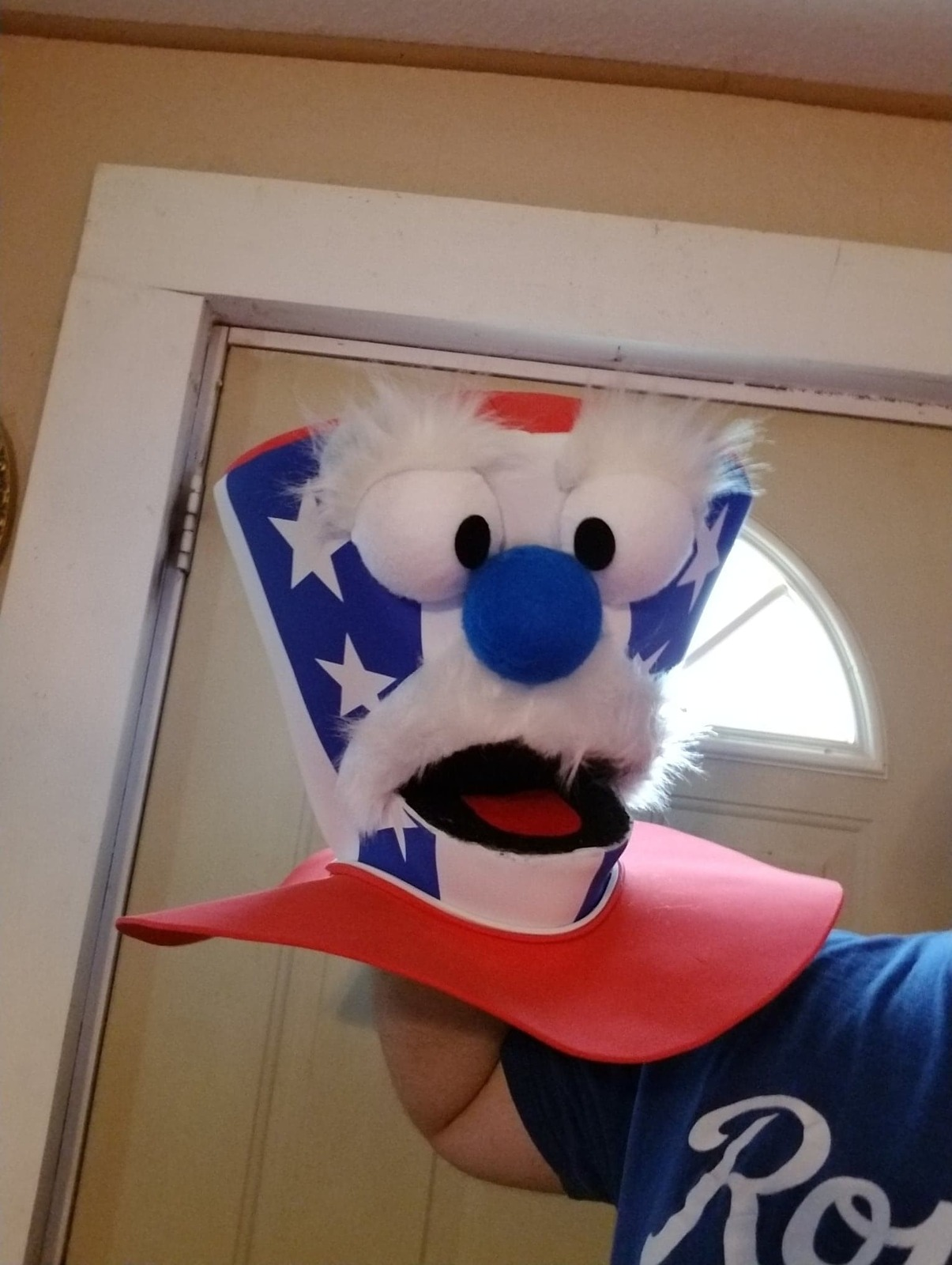 "Professional ""Uncle Sam Hat"" Muppet Style Ventriloquist Puppet * Custom Made"