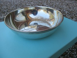 100% Genuine vintage Tiffany & Co handcrafted pewter bowl - $76.94