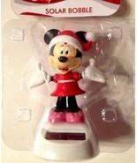 Disney Christmas Minnie Mouse Solar Powered Figurine - $8.86