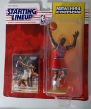1994 Starting Lineup Calbert Cheaney Washington Bullets Kenner Basketball Figure - $6.00