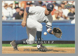 2008 Upper Deck First Edition #424 Alex Rodriguez - NM-MT - $0.98