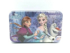 Disney 60 Piece Frozen Jigsaw Puzzle in Tin 240mm x 150mm Chinese Edition NEW - $9.89