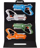 DYNASTY TOYS Laser Tag Set Toys and Carrying Case for Kids Multiplayer 4... - $73.09