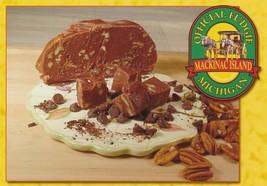 Postcard Official Fudgie Mackinac Island Michigan Fudge Unused Continent... - $5.93