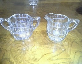 Old Time Crystal Glassware - $14.85