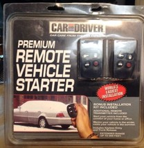 NEW CAR AND DRIVER 800 Ft Range Remote Vehicle Starter Keyless Entry Trunk  - $70.02 CAD