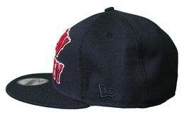 Rocksmith Team New Money 59FIFTY new Era Navy Red Fitted Baseball Hat Cap image 5