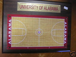 New-University of ALABAMA Basketball Court Wall PLAQUE - $24.20