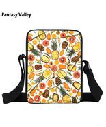 Friends Not Food Mini Messenger Bag Go Vegan Girls Bookbag Women Small C... - $14.52