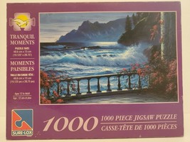 """Tranquil Moments 1000 Piece Jigsaw Puzzle Sure-Lox 19.125"""" x 28.75"""" Ages... - $18.69"""