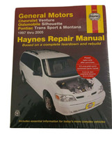1997-2005 Chevy Venture, GM Van Repair Manual 38036 Haynes NEW SEALED - $19.99