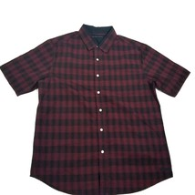 Sean John Men's Shirt Short Sleeve Plaids  Purples Medium - $58.11