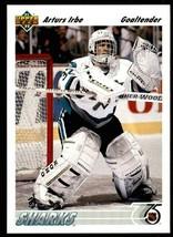 1991-92 Upper Deck ROOKIE Arturs Irbe Sharks Hockey Card! #532 Goalie RC NM-MINT - $1.89
