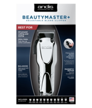 Andis Beauty Master Adjustable Blade Clipper with 11 Attachment Comb #66360 - $64.30