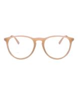 Quinn - Blue Light Blocking Glasses - Trendy Round Frame - Unisex - Nude - $18.99+