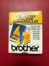 Brother Yellow Ink Cartridge LC21Y Genuine New Sealed  - $6.92