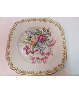 """Royal Albert Nosegay square plate 6"""" Vintage Rounded Corners - $16.76"""