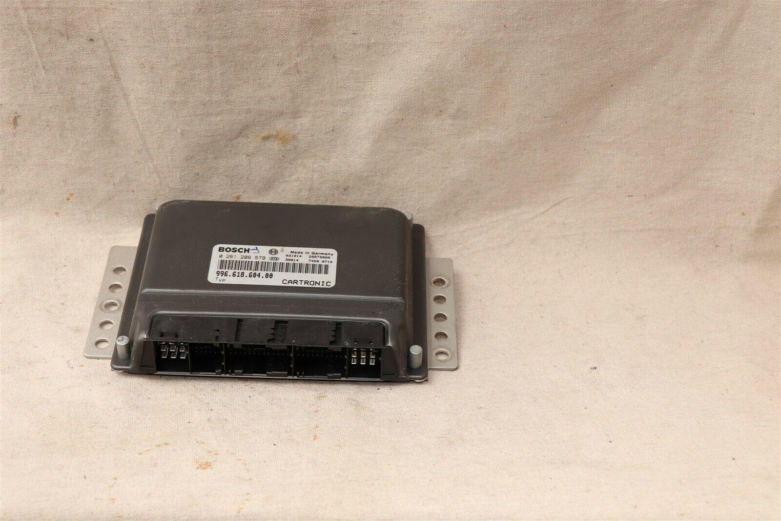 Porsche Boxster 6sp MTX Manual Trns Engine Control Module ECU DME 996.618.604.00