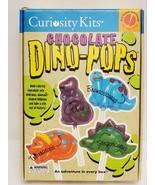 VINTAGE SEALED 2000 Curiosity Kits Chocolate Dino Pops Lollipop Mold Set - $18.49