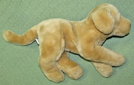 KIDS PREFERRED DOG STUFFED ANIMAL YELLOW LABRADOR GOLDEN RETRIEVER PUPPY... - $14.03