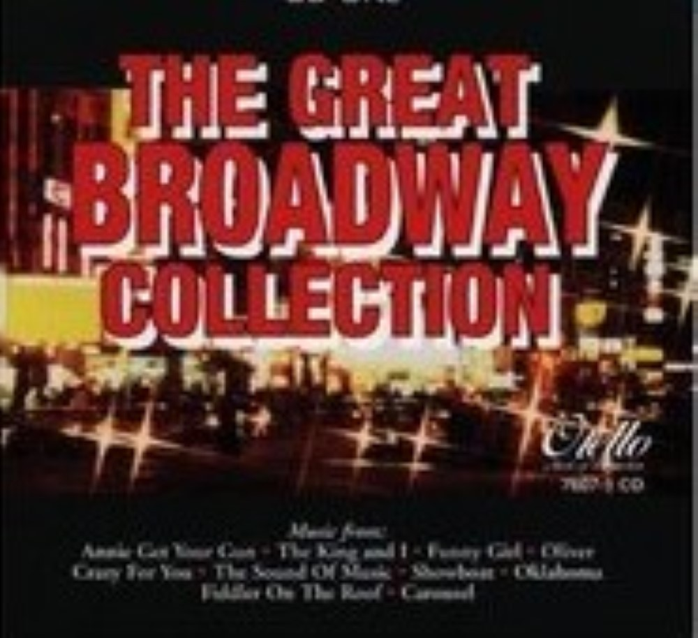The Great Broadway Collection (Vol 1) by The London Theater Orchestra Cd