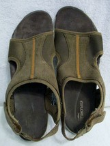 Women's Easy Spirit Explore 24 Brown Leather Sandals Size 10 - $26.87 CAD