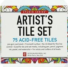 Studio Series Artist's Tiles: White 75 pack - $7.06
