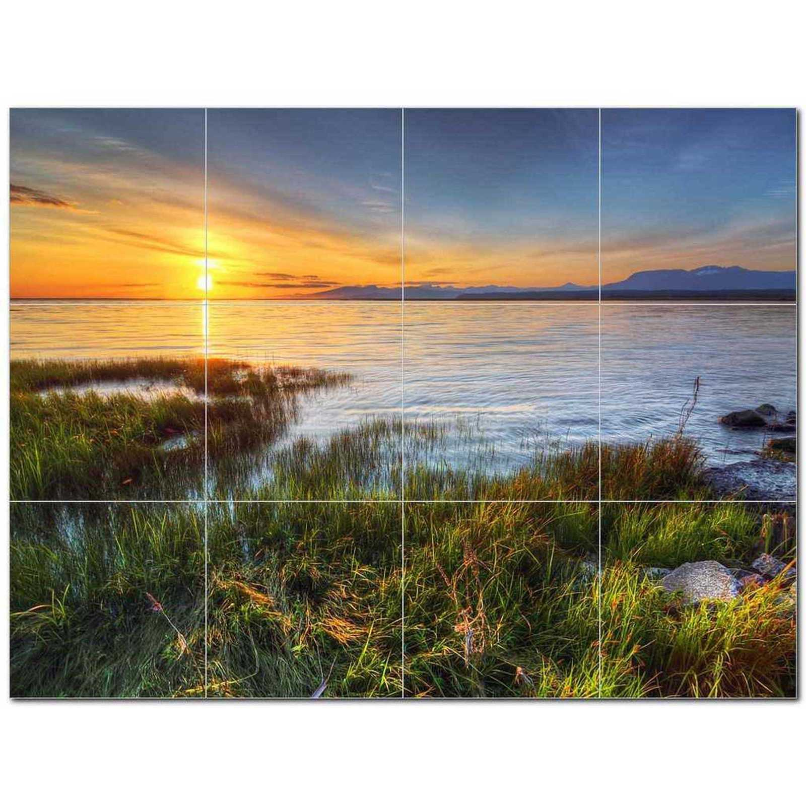 Primary image for Sunset Picture Ceramic Tile Mural Kitchen Backsplash Bathroom Shower BAZ405952