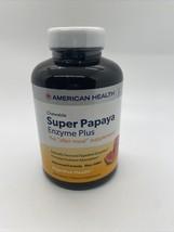 American Health Super Papaya Enzyme Plus Chewable Tablets, Natural Papaya Flavor - $20.57