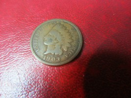 US Coin 1903 Indian Cent - $3.95