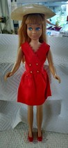 VINTAGE BARBIE SKIPPER RED HAIR (COLOR MAGIC)  905 with 1901 outfit Rare... - $67.72
