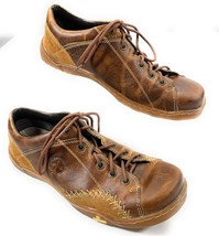Dr Martens 11957 Distressed Leather & Suede Lace Up Oxford Shoes Men's 9 - $36.58