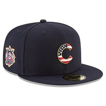Era Chicago Cubs 2018 Stars & Stripes 4th of July 59Fifty Hat 7 7/8 - $42.17